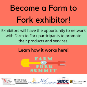 Exhibitor How-To — Farm to Fork 2021