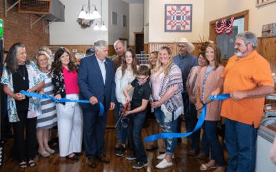 Governor Parson Makes a Visit to CC's Butcher Shop